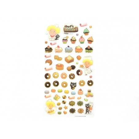 Stickers fantaisies - Chef's dessert  - 2