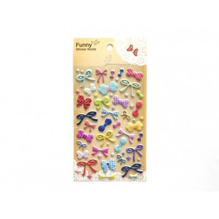 Acheter Stickers fantaisies - Noeuds - 2,95€ en ligne sur La Petite Epicerie - Loisirs créatifs