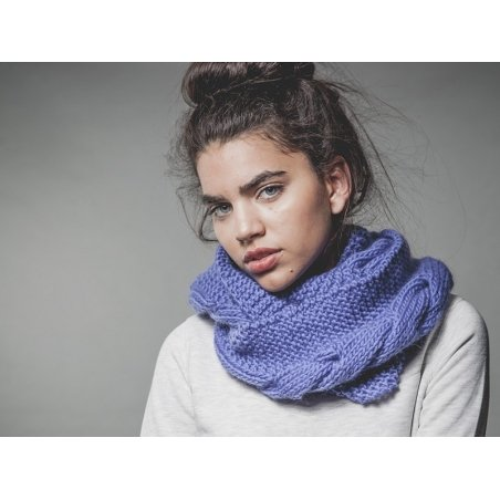 Kit tricot intermédiaire - Crazy Snood We are knitters - 2