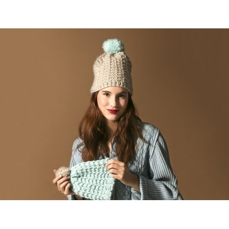 Kit tricot facile - You & me beanies We are knitters - 2