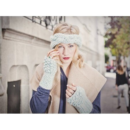 Kit tricot intermédiaire - Lili headband and warmers We are knitters - 2