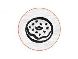 Tampon à frapper - donut