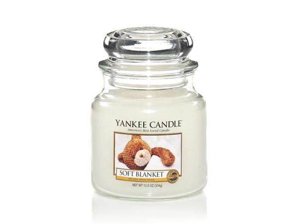 Acheter Bougie Yankee Candle - Soft Blanket / Couverture douce - Moyenne jarre - 24,89€ en ligne sur La Petite Epicerie - 10...