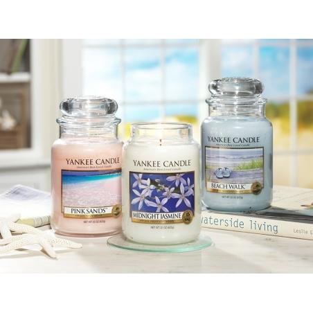 Acheter Bougie Yankee Candle - Pink Sands / Sables roses - Moyenne jarre - 24,89€ en ligne sur La Petite Epicerie - 100% Loi...