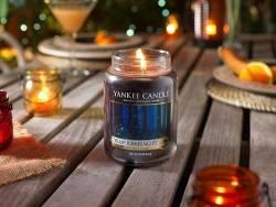 Bougie Yankee Candle - Dreamy Summer Nights / Songe d'une nuit d'été - Moyenne jarre