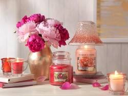 Bougie Yankee Candle - Red Raspberry / Framboise rouge - Moyenne jarre