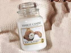 Yankee Candle - Soft Blanket - small jar