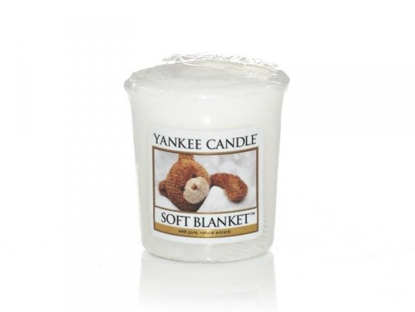 Acheter Bougie Yankee Candle - Soft Blanket / Couverture douce - Bougie votive - 2,69€ en ligne sur La Petite Epicerie - 100...