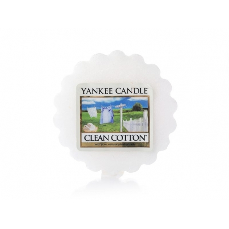Yankee Candle - Clean Cotton - wax tart