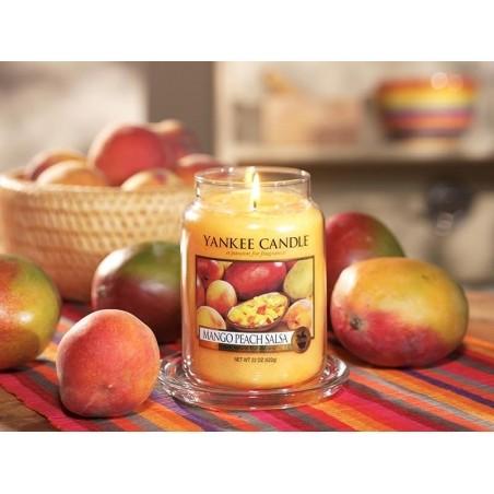 Acheter Bougie Yankee Candle - Mango Peach Salsa / Mangue et pêche - Petite jarre - 11,89€ en ligne sur La Petite Epicerie -...