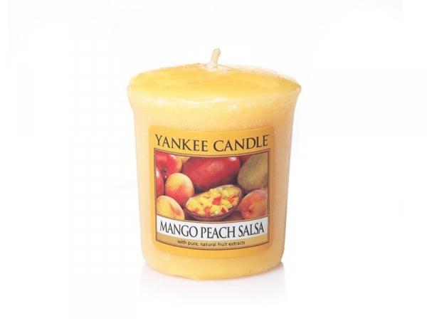 Bougie Yankee Candle - Mango Peach Salsa / Mangue et pêche - Bougie votive