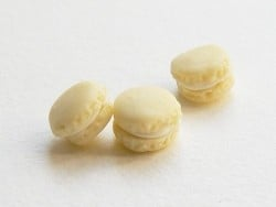 1 mini macaron - vanille  - 1