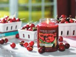 Bougie Yankee Candle - Black Cherry / Cerise Griotte - Petite jarre