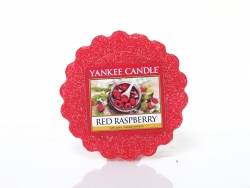 Bougie Yankee Candle - Red Raspberry / Framboise rouge - Tartelette de cire