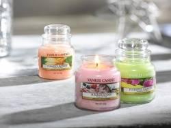 Yankee Candle - Summer Scoop - Kerze im Glas (kleines Glas)
