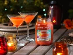 Bougie Yankee Candle - Passion Fruit Martini / Cocktail fruit de la passion - Tartelette de cire