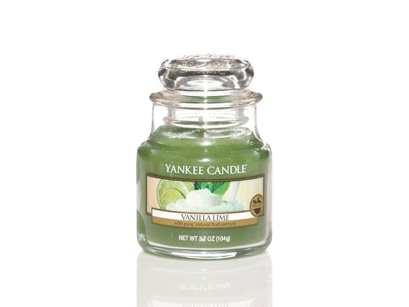 Bougie Yankee Candle - Vanilla Lime / Vanille et citron vert - Petite jarre Yankee Candle - 1