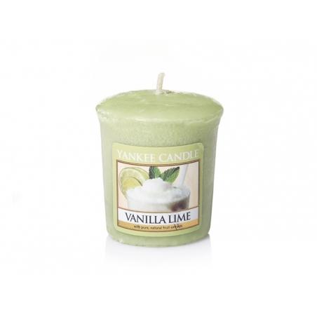 Acheter Bougie Yankee Candle - Vanilla Lime / Vanille et citron vert - Bougie votive - 2,69€ en ligne sur La Petite Epicerie...