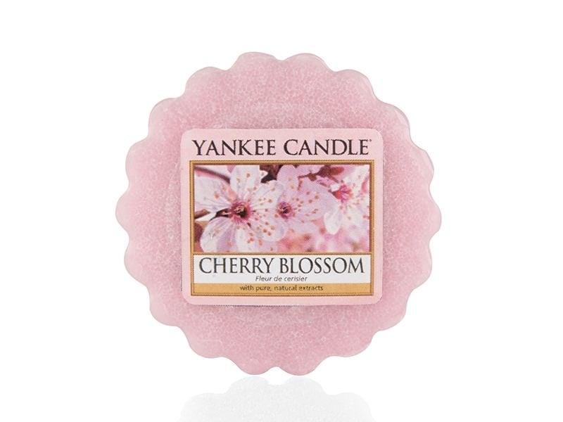 Acheter Bougie Yankee Candle - Cherry Blossom / Fleur de cerisier - Tartelette de cire - 2,29€ en ligne sur La Petite Epicer...