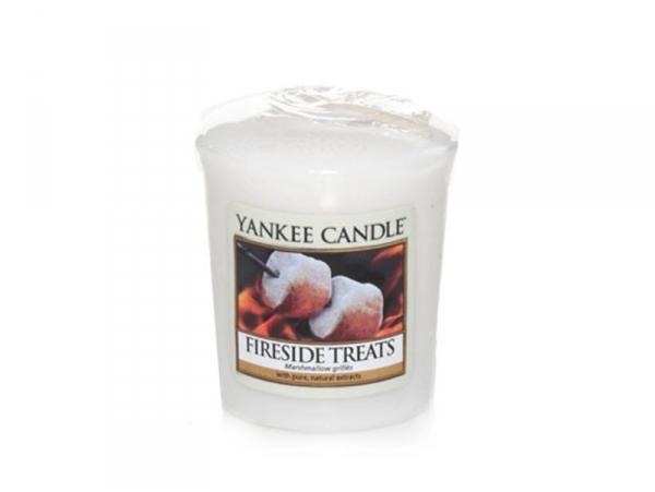 Bougie Yankee Candle - Fireside Treats / Marshmallows grillés - Bougie votive