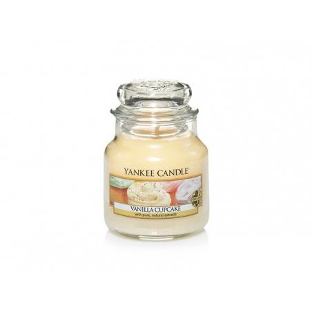 Acheter Bougie Yankee Candle - Vanilla Cupcake / Gâteau à la vanille - Petite jarre - 10,09€ en ligne sur La Petite Epicerie...
