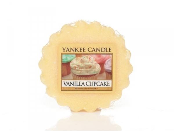 Acheter bougie yankee candle vanilla cupcake tartelette de cire en ligne - Acheter cire de bougie ...