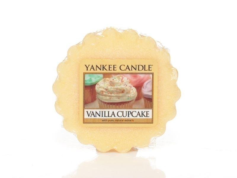 Acheter Bougie Yankee Candle - Vanilla Cupcake / Gâteau à la vanille - Tartelette de cire - 2,29€ en ligne sur La Petite Epi...