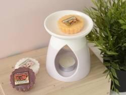 Bougie Yankee Candle - Mango Peach Salsa / Mangue et pêche - Tartelette de cire
