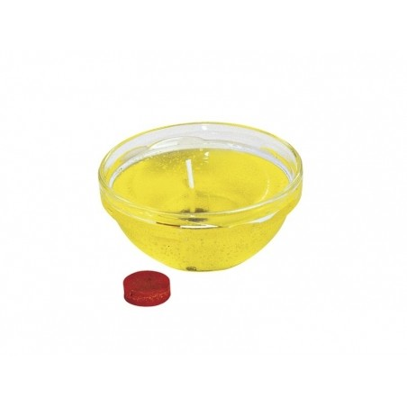 Pastille de colorant pour cire à bougie - jaune Rayher - 2