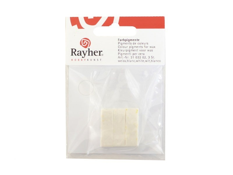 Pigment pour cire à bougie - blanc Rayher - 1