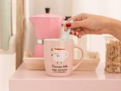 "mug "" Premier bébé, mère heureuse (et fatiguée)"""