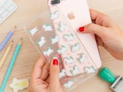 Coque Iphone 7 Plus - Mini licornes
