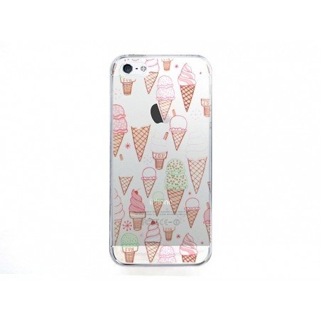 Coque Iphone 7 - Cornets de glaces