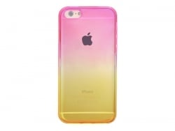 Coque Iphone 5 / 5S / 5SE - dégradé jaune et rose