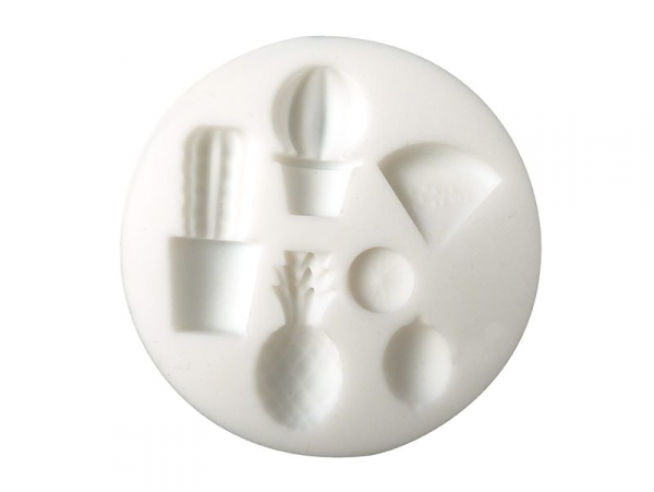 Acheter Mini moule en silicone - exotique - 5,10€ en ligne sur La Petite Epicerie - Loisirs créatifs