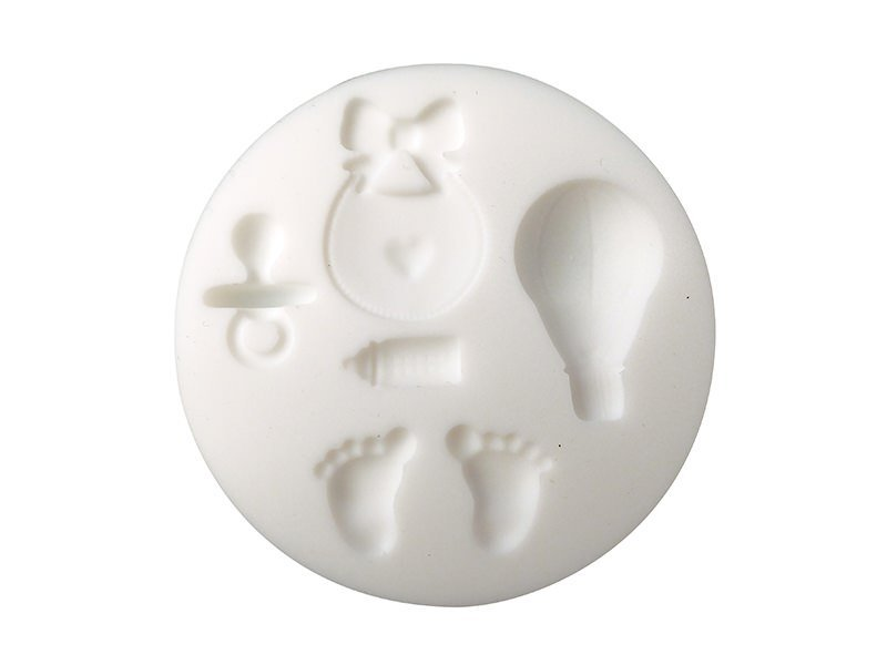 Acheter Mini moule en silicone - naissance - 5,10€ en ligne sur La Petite Epicerie - Loisirs créatifs