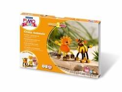 Kit de modelage et jeux - Crazy animals - Tigre et Lion