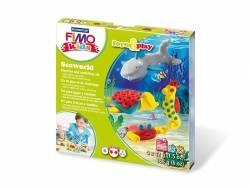 Kit de modelage et jeux - Seaworld - Marin Fimo - 1