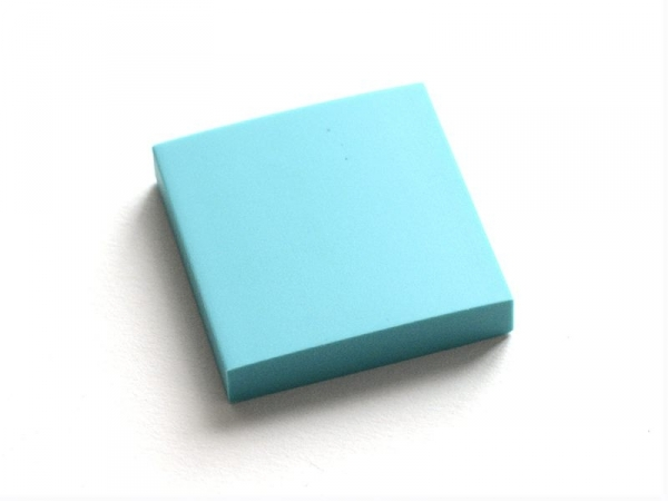 Rubber carving block for the creation of stamps - light blue