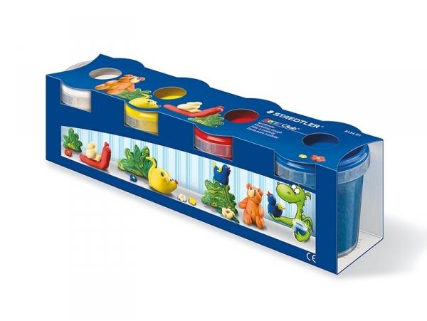 Acheter Set de 4 pots de pâte à modeler - couleurs primaires - 12,19€ en ligne sur La Petite Epicerie - 100% Loisirs créatifs