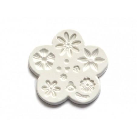 Moule en silicone multi-fleurs Wepam - 1