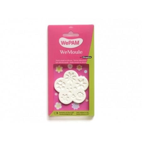 Moule en silicone multi-fleurs Wepam - 2