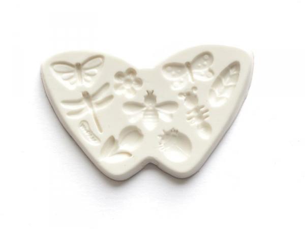 Acheter Moule en silicone fleurs et insectes - 7,30€ en ligne sur La Petite Epicerie - 100% Loisirs créatifs