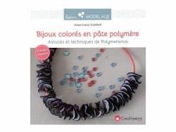 """Livre """"Bijoux colorés en pâte polymère"""""""