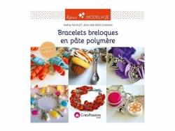 "Livre ""Bracelets breloques pâte polymère"""