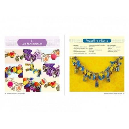 """Acheter Livre """"Bracelets breloques pâte polymère"""" - 16,90€ en ligne sur La Petite Epicerie - 100% Loisirs créatifs"""