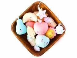 Mini charms - Glace esquimau jaune