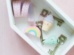 Mini charms - glace à l'italienne