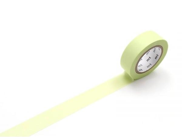 Masking tape uni - vert citron Masking Tape - 1