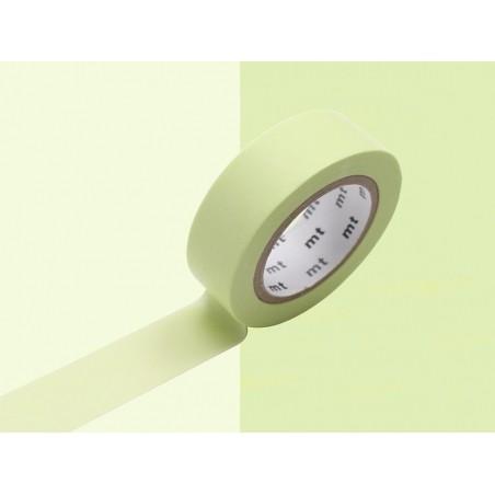 Masking tape uni - vert citron Masking Tape - 2